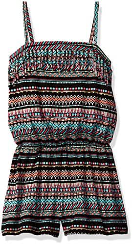 The Children's Place Big Girls' Aztec Printed Romper
