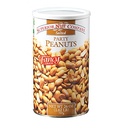 Superior Nut Company Salted Party Peanuts Fancy