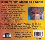 Bioterrorism Smallpox 5 Users, Farb, Daniel, 1594911568