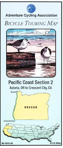 Bicycle Touring Map: Pacific Coast Section 2