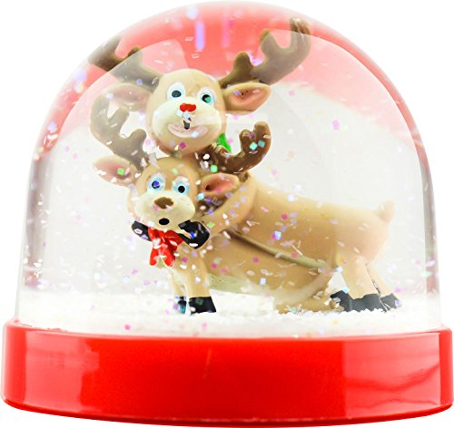 Funny Christmas Snow Globe Humping Reindeer