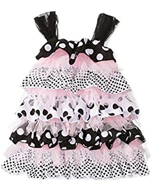 Baby Girls' Polka Dot Ruffle Dress