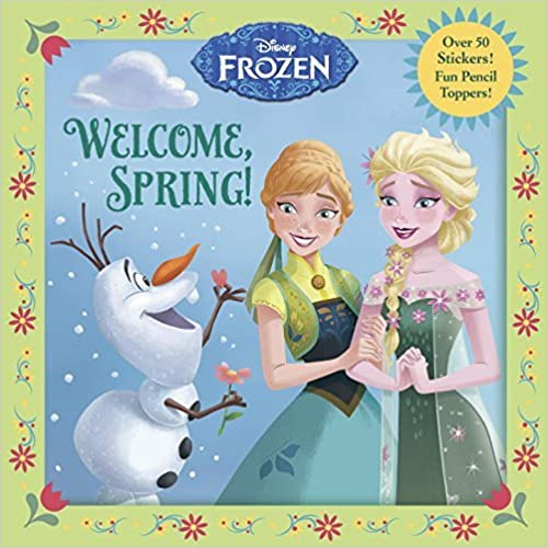 Welcome, Spring! (Disney Frozen) (Pictureback(R)) by RH Disney (2016-01-05)