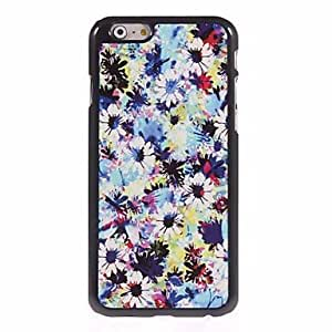 JJE Blooming Flower Design Aluminum Hard Case for iPhone 6 Plus