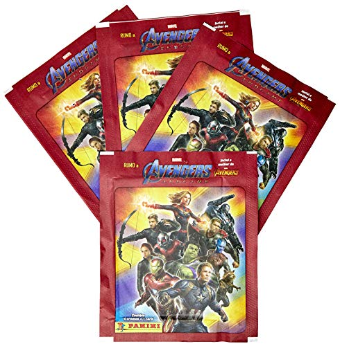 Figurinhas Vingadores Box C/48 Envelopes Panini Multicor