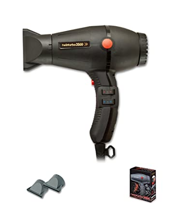 Turbo Power 328A Twin Turbo 3500 Professional Salon Grey Hair Dryer