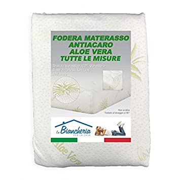 tex family Protector de colchón antiácaros, hipoalergénico Aloe Vera - 1 Plaza y Media: Amazon.es: Juguetes y juegos