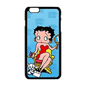 Bobby Doll And Cat Black iPhone plus 6 case