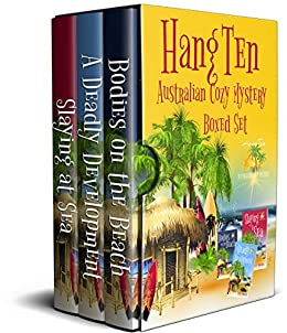 Hang Ten Australian Cozy Mystery Boxed Set: Books 1 - 3 by [Alabaster, Stacey]