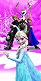 Disney Beach Towel Frozen Anna & Elsa Frozen Magic Bath Towel 100% Cotton