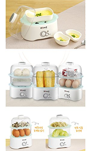 Wiswell Electric Egg Steamer, Egg Cooker, 220v by Wiswell (Image #5)