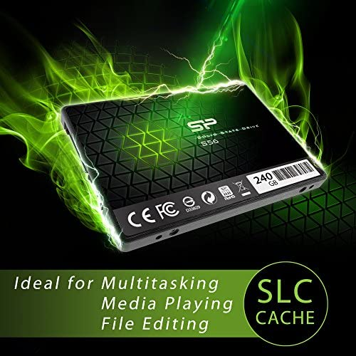 Silicon Power 240gb Ssd 3d Nand With R W Up To 560 Computer Zubehör