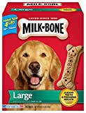 Milk-Bone Original Dog Treats for Large Dogs, 4-Pounds (Pack of 2)