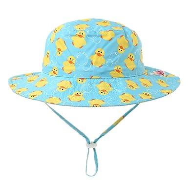 Ateid Cappello da Sole Reversibile Estate per Bambino