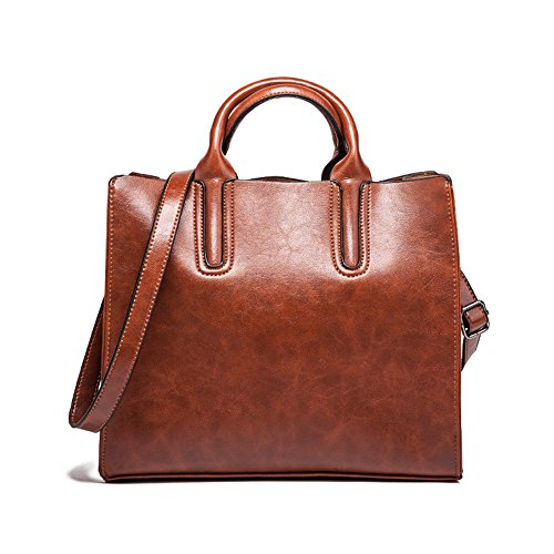 Bag Shoulder Sjmmbb 31x27x10cm Single Old Hand Slung New Brown Shoulder Brown wIwxqZ16n