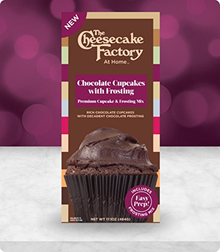 The Cheesecake Factory at Home Premium Cupcake & Frosting Mix (Chocolate)