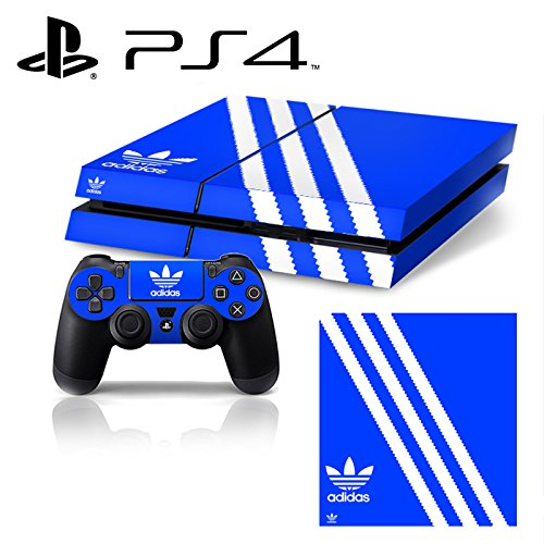 Price comparison product image Ci-Yu-Online VINYL SKIN [PS4] - ShoeBox 1 Adidas Originals Logo Shoe Box - Whole Body STICKER DECAL COVER for PS4 Playstation 4 System Console and Controllers