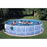Swim N Play 15ft x 36in Above Ground Pool Package with Port Hole