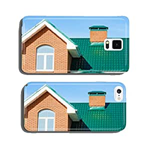 house with a gable roof window cell phone cover case iPhone6