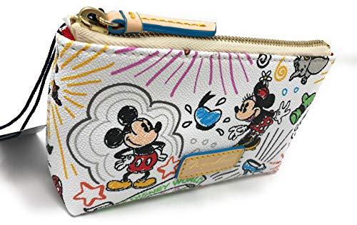 Walt Disney World Sketch Cosmetic Bag Dooney Bourke