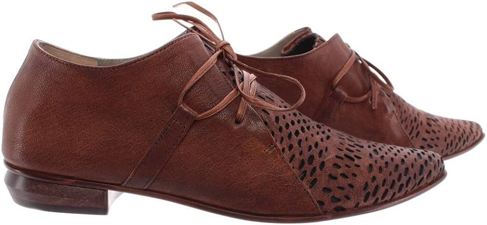 Zapatos Mujer iXOS Splonge Castano Vero Cuoio Made In Italy Nuevos