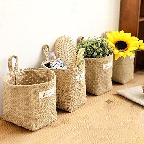 JUJU MALL-New Round Fabric Pots Plant Pouch Root Container Grow Bag Aeration Pot - Jersey Mall Garden New