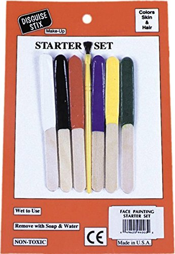 WMU 563380 Disguise Stix Starter Kit Makeup for Skin and Hair -