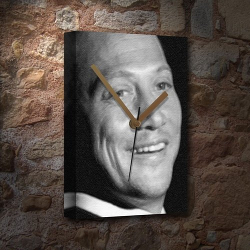 ROB SCHNEIDER - Canvas Clock (LARGE A3 - Signed by the Artist) #js002