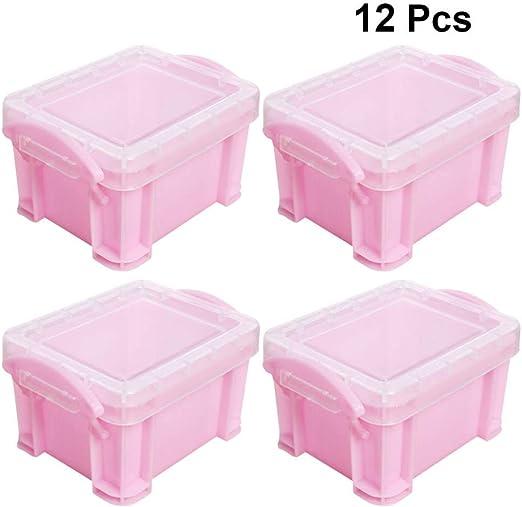 Amosfun - Cajas de caramelos de plástico creativas para bodas ...