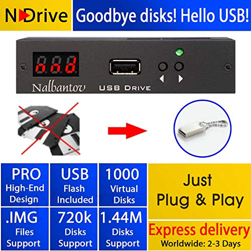 Floppy Disk USB Emulator Nalbantov N-Drive 1000 for for sale  Delivered anywhere in Canada