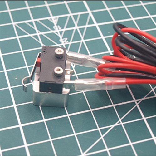 3D Printer – 1pcs Reprap Mini 3D printer Aluminum Z axis endstop Holder and Limit Switch kit for 2020 Extrusion