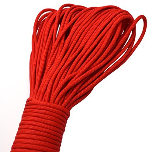 100ft Type III 7 Strand Core Paracord 550 Parachute