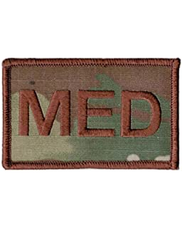 : Air Force MED OCP Patch Spice Brown Medical