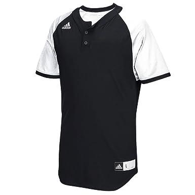 43a6b2c91d1 Amazon.com  Adidas Diamond King 2.0 Mens 2-Button Henley Baseball ...
