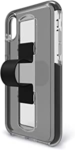 BodyGuardz - SlideVue Case Compatible w/Apple iPhone Xs Max, Extreme Impact and Scratch Protection - iPhone Xs Max (Black)