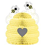 "Creative Converting 340067 Bumblebee Baby Centerpiece, 9"" x 11"", Multi-color"