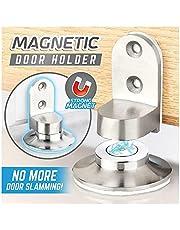 DIIIBARLORY Magnetic Door Holder, Invisible Magnetic Door Stop,Strong and Durable Door Stopper Holder Door Stop Holder for Home Office