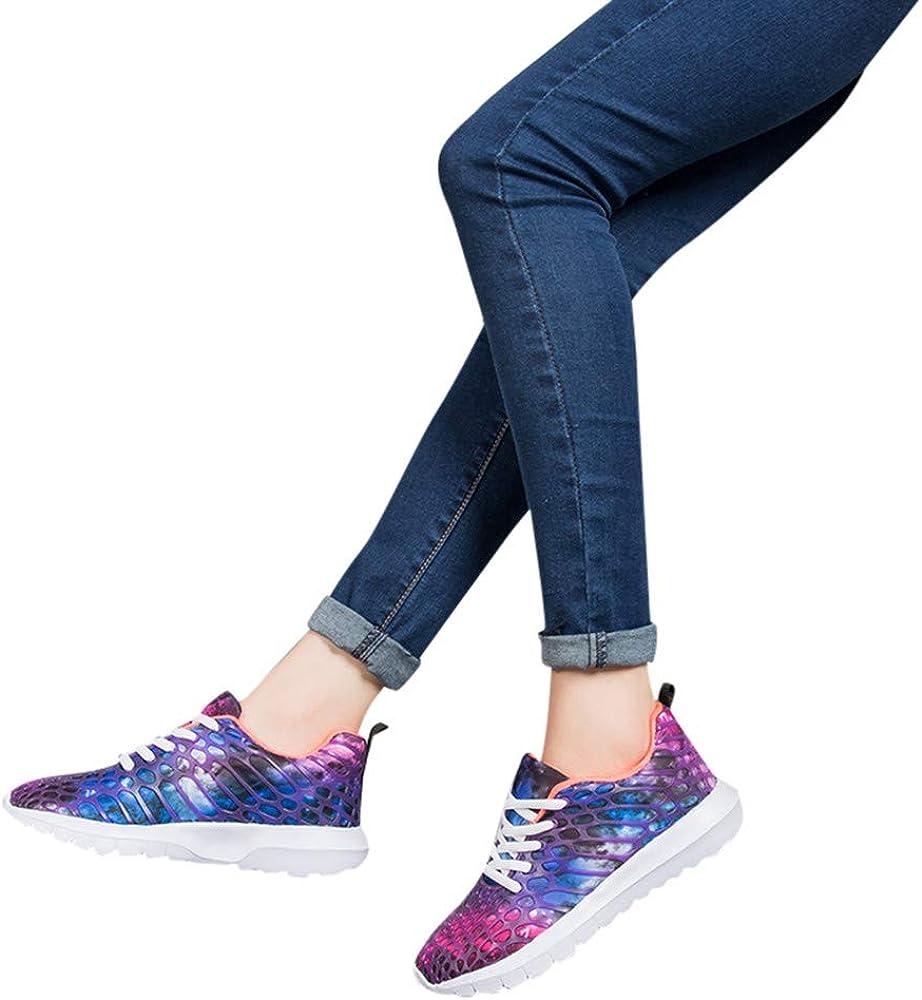 YiYLunneo Zapatillas Deportivas de Mujer Hombre Zapatos Parejas ...