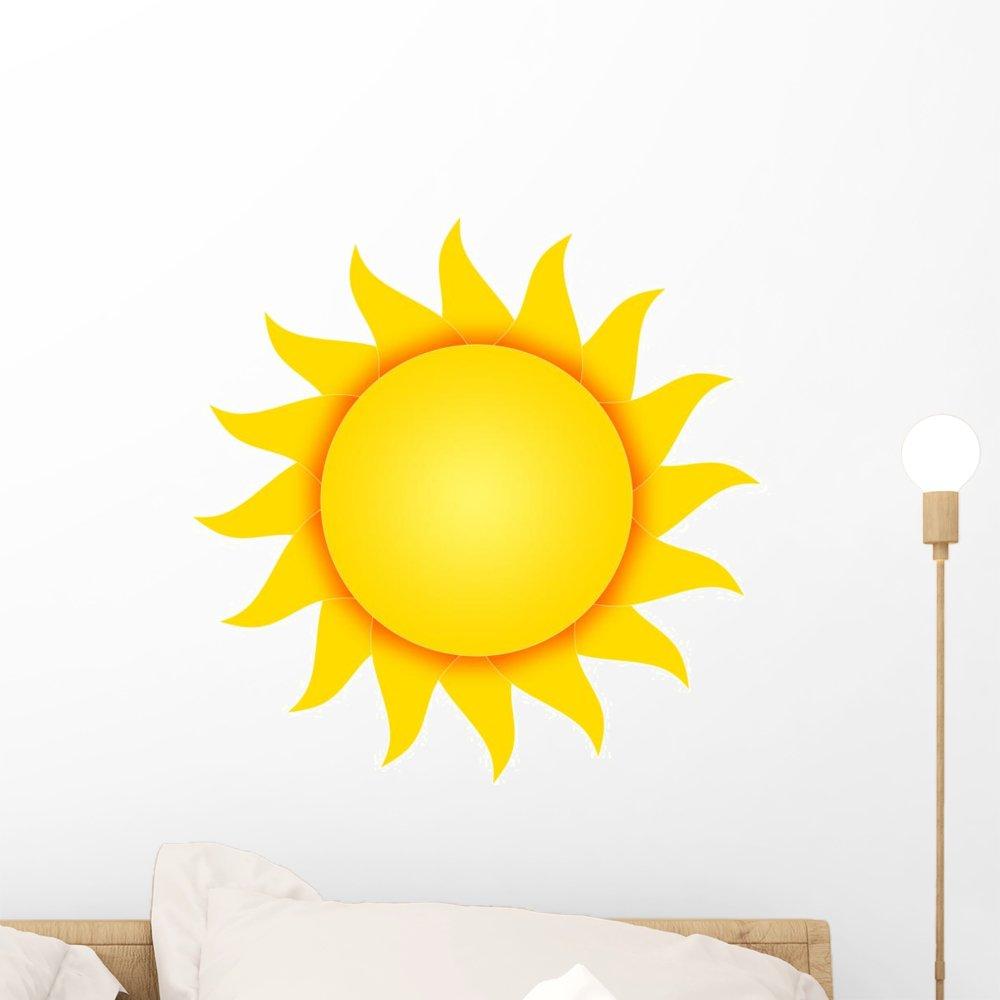 Amazon.com: Wallmonkeys Sun Wall Decal Peel and Stick Graphic (18 in ...