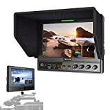 """TARION M7/S 7"""" Full HD LED Monitor Metal Housing High Resolution with SDI and HDMI Cross Conversion for Canon Nikon Olympus Video Camera DSLR"""