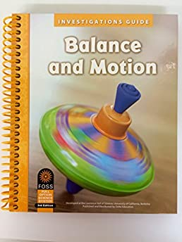 investigations guide balance and motion foss teacher toolkit 3rd rh amazon com Balance and Motion Worksheet Foss Balance and Motion Tops