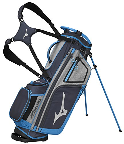 Mizuno 2018 BR-D4 Stand Golf Bag, Grey/Light Blue