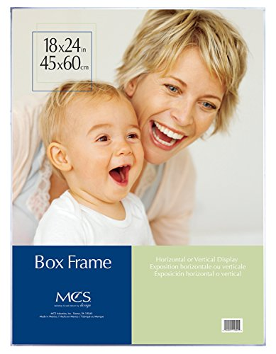 Mcs Box Frame (MCS 18x24 Inch Clear Box Frame (11824))