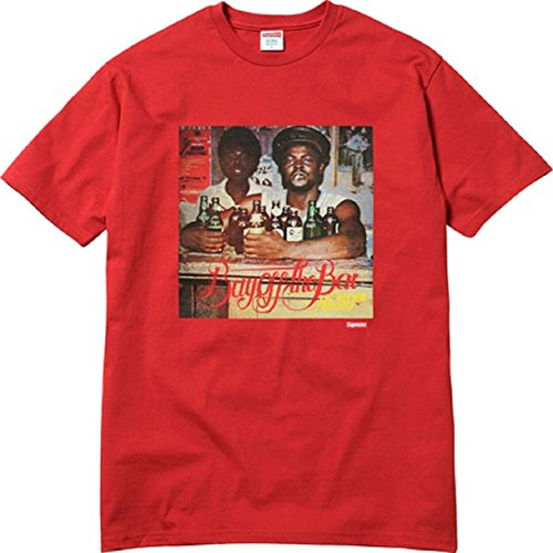 Supreme Ss17 Limonious Buy Off The Bar Tee - Rosso