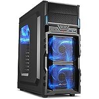 Gaming Desktop - AMD FX-8300 3.30GHz Octa-Core Processor, 16GB DDR3 Memory, NVIDIA GeForce GTX 1050Ti 4GB GDDR5 Graphics, 120GB SSD, 1TB HDD, DVDRW, Microsoft Windows 10 Pro 64-Bit, Wifi
