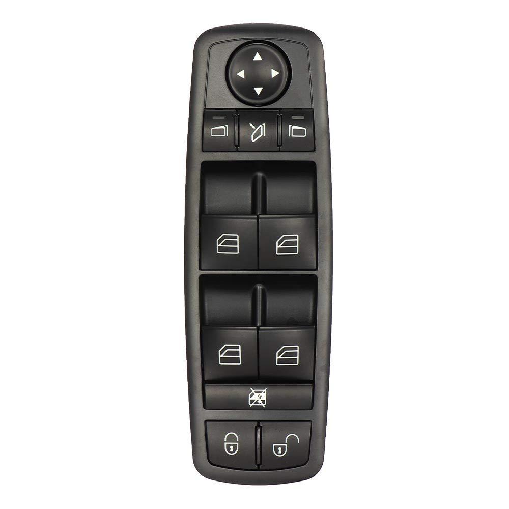 ISSYZONE Button Mercedes Class A A1698206710 Window Button Switch Window Window Window Window Lifter for Class A W169 B Class W245 2006 to 2012 Panel Switch 1698206710