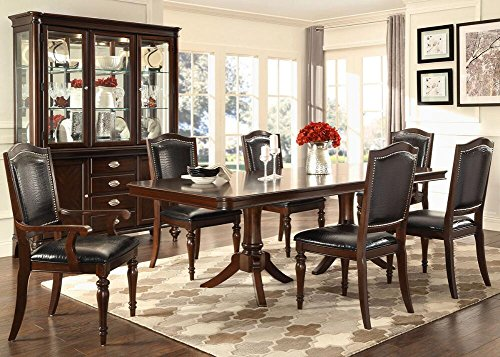 Camilla 7 Pc. Dining Room Set With China Cabinet