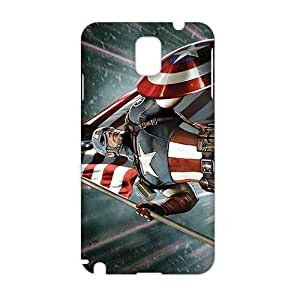 3D Case Cover America Captain Phone Case for Samsung Galaxy Note3