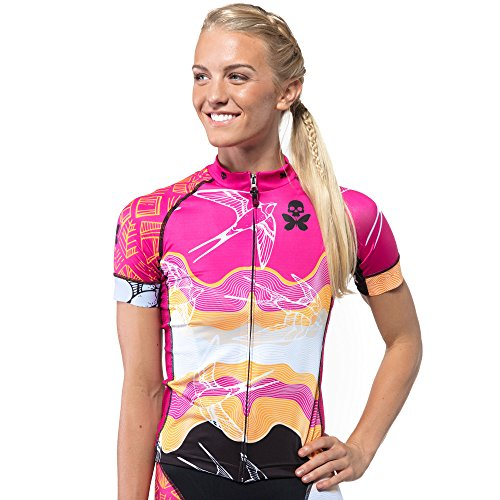 Betty Designs Short Sleeve Cycle Jersey (S, - Wetsuits For Sale Tri