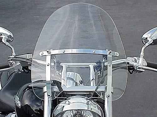 - i5 Windscreen Windshield for Honda Kawasaki Suzuki Yamaha Harley